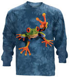 Long Sleeve: Victory Frog Shirts