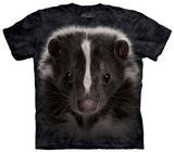Youth: Skunk Portrait T-shirts