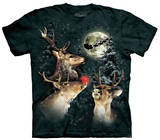 Youth: Three Reindeer Moon T-Shirt