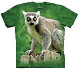 Youth: Ring Tailed Lemur Smithsonian Collection T-shirts