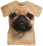 Juniors: Pug Face Shirts