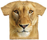 Big Face Lioness Shirts