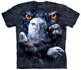Patriotic Moon Eagle Eye T-Shirts