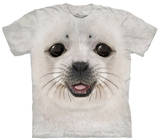 Youth: Big Face Baby Seal Shirt