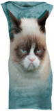 Mini Dress: Grumpy Cat Mini Dress