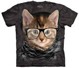 Hipster Kitten T-Shirt