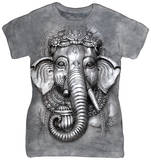 Juniors: Big Face Ganesh T-shirts