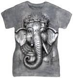 Women's: Big Face Ganesh T-shirts