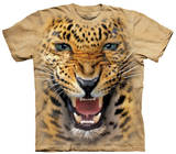 Youth: Angry Leopard T-shirts