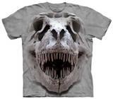 Youth: T Rex Big Skull Koszulki