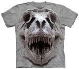 Youth: T Rex Big Skull T-shirts