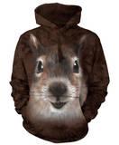 Hoodie: Squirrel Face Pullover Hoodie