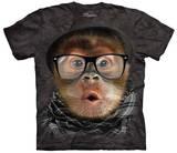 Hipster Orangutan Baby T-shirts