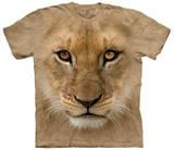 Big Face Lion Cub Tshirt