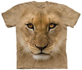 Big Face Lion Cub Shirt