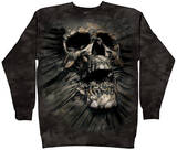 Crewneck Sweatshirt: Breakthrough Skull Shirt