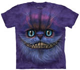 Youth: Big Face Cheshire Cat T-Shirts