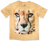 Youth: Big Face Cheetah Endanger Smithsonian Collection Shirts