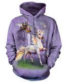 Hoodie: Unicorn Castle Pullover Hoodie