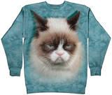 Crewneck Sweatshirt: Grumpy Cat Shirts