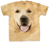 Big Face Golden Camisetas