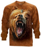 Long Sleeve: Grizzly Growl Skjorta