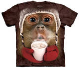 Hot Cocoa Orangutan T-shirts