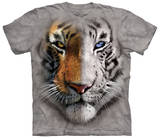 Big Face Split Tiger T-shirts