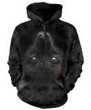 Hoodie: Bat Head Pullover Hoodie