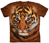Youth: Big Face Sumatran Tiger Cub Smithsonian Collection T-Shirt