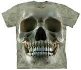 Big Face Skull T-skjorte