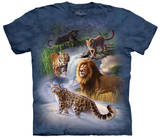 Global Big Cats T-Shirts