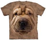 Youth: Big Face Shar Pei Pup T-shirts