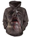 Hoodie: Zombie Face Pullover Hoodie