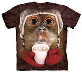 Youth: Hot Cocoa Orangutan Shirts