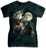 Women's: Three Wolf Moon T-Shirt