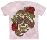 Paisley Sugar Skull T-shirts
