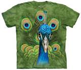 Vibrant Peacock T-Shirt