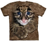 Youth: Clouded Leopard Cub Smithsonian Collection Shirts