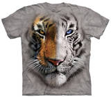 Youth: Big Face Split Tiger Shirts