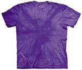 Spiral Purple T-shirts