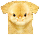 Youth: Big Face Baby Chick T-Shirts