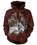 Hoodie: Find 9 Wolves Pullover Hoodie