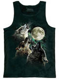 Tank Top: Three Wolf Moon Tank Top