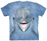 Youth: Dolphin Face T-shirts