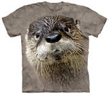 North American River Otter Bluse