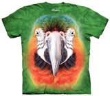 Youth: Big Face Parrot T-shirts