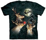 Three Reindeer Moon T-shirts