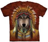 Youth: Wolf Spirit Chief T-Shirt