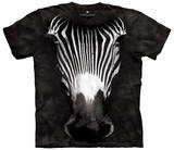 Big Face Grevys Zebra T-shirts